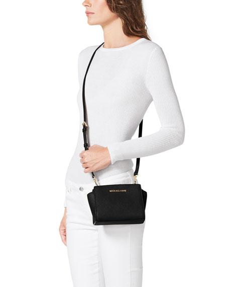 Selma Mini Messenger Bag Black