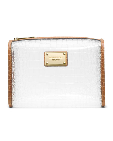 Large Nora Clear Cosmetic Bag