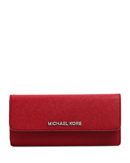 MICHAEL Michael Kors  Large Jet Set Travel Slim Wallet