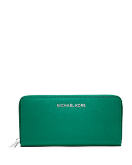 MICHAEL Michael Kors  Jet Set Zip-Around Wallet