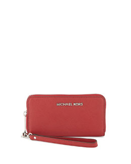 MICHAEL Michael Kors  Large Jet Set Multifunction Wristlet