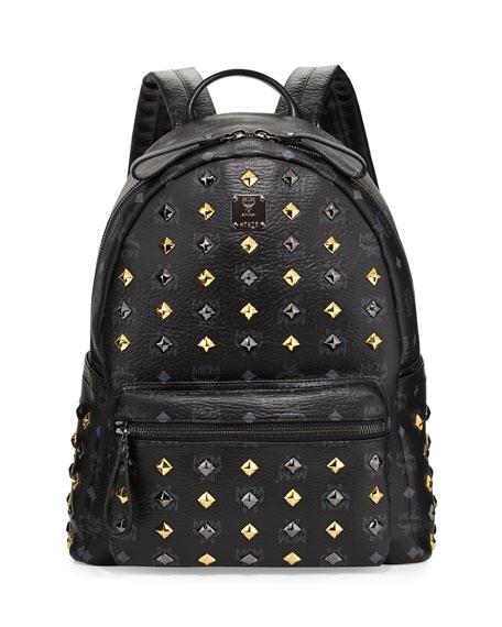Stark Studded Backpack, Black
