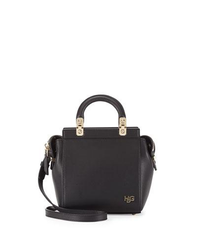Givenchy HDG Mini Top-Handle Crossbody Bag, Black