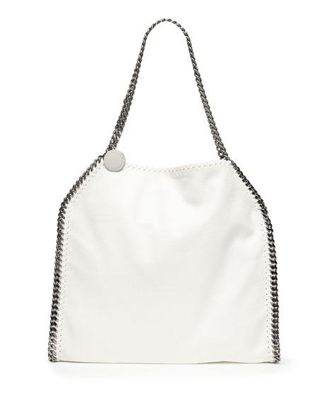 Falabella Baby Bella Shoulder Bag White