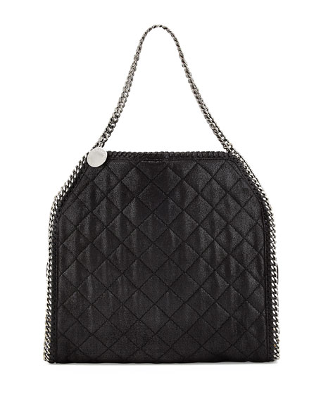 Baby Bella Quilted Shoulder Bag, Black