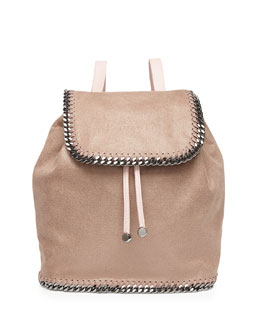 Stella McCartney Falabella Shaggy Deer Backpack, Light Pink