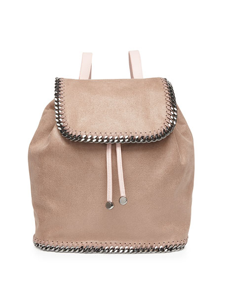 stella mccartney falabella shaggy deer backpack light pink. Black Bedroom Furniture Sets. Home Design Ideas