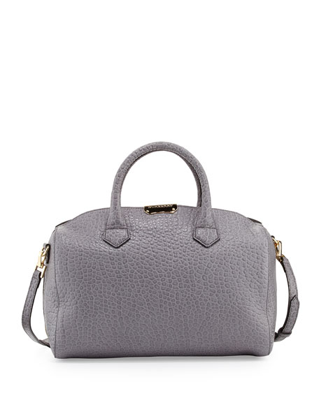 71ecdb4f9687 Burberry Pebbled Leather Satchel Bag