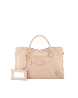 Balenciaga Giant 12 Golden City Bag, Blush