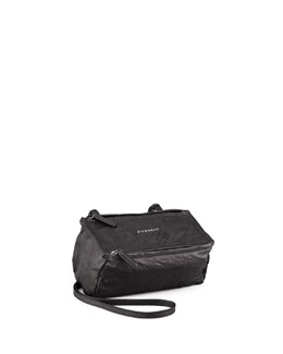 Givenchy Pandora Mini Crossbody Bag, Black