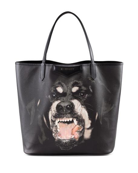Antigona Medium Shopping Tote, Black