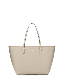 kate spade new york cedar street harmony medium tote bag, clocktower
