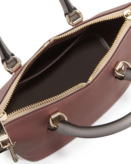 Baylee Mini Satchel Bag, Pink