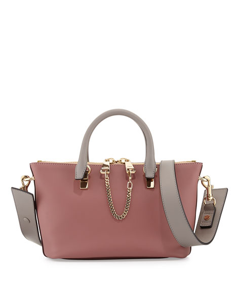 Baylee Mini Satchel Bag, Pink