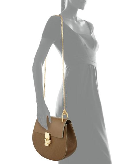 Chloe Drew Medium Chain Shoulder Bag, Khaki