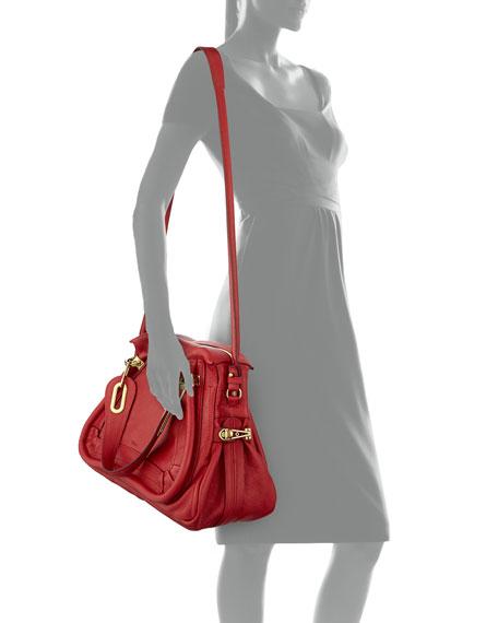 Chloe Paraty Shoulder Bag, Red