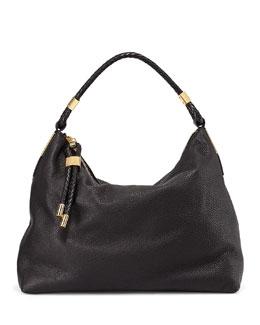 Michael Kors  Skorpios Top-Zip Hobo Bag