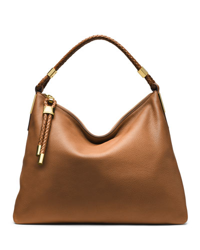 Skorpios Top-Zip Hobo Bag
