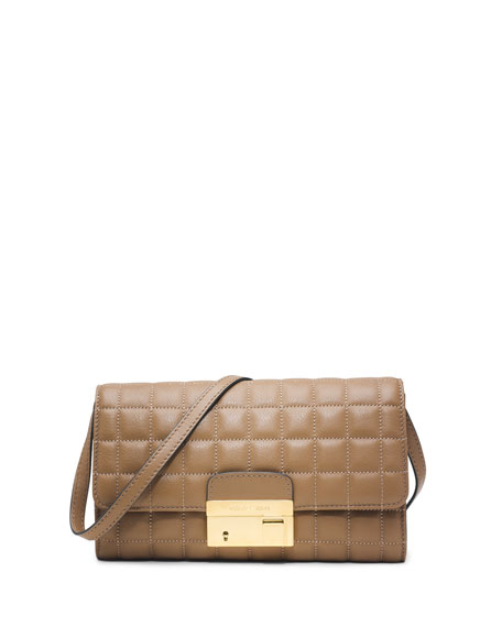 Gia Quilted Clutch