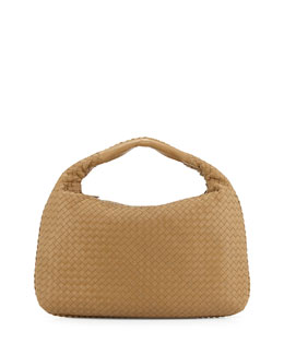 Bottega Veneta Veneta Large Hobo Bag, Sand