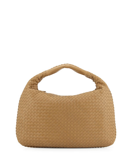 Veneta Large Hobo Bag, Sand