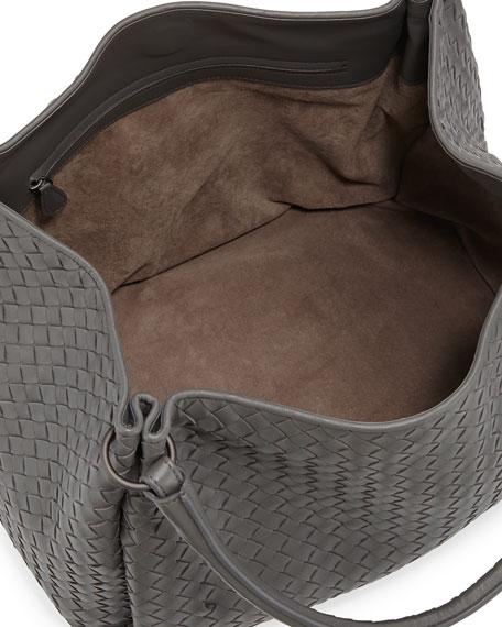 Parachute Intrecciato Tote Bag, Gray
