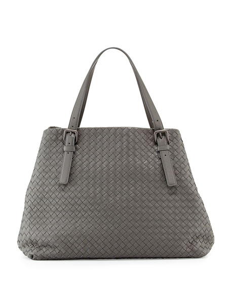 Bottega Veneta Large A-Shape Tote Bag, Gray
