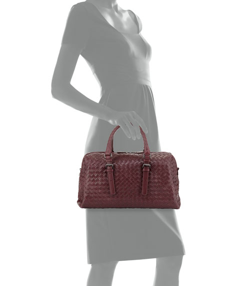 4d42ef498b78 Bottega Veneta New Boston Medium Top-Handle Bag
