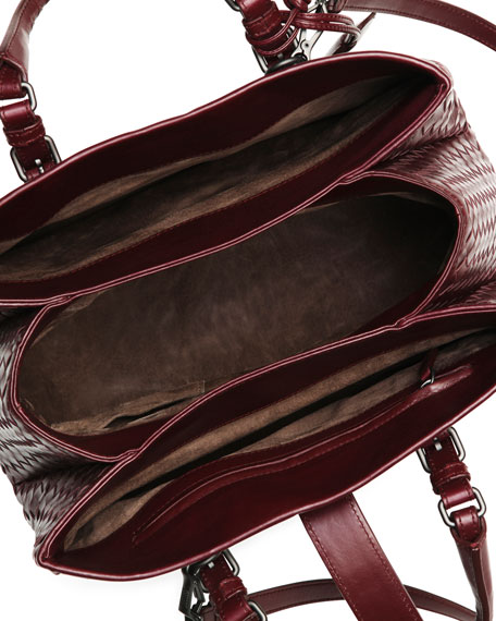 Roma Leggero Tote Bag, Dark Purple