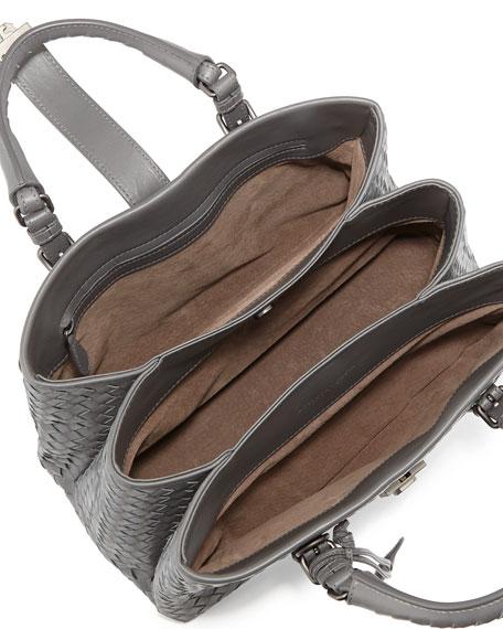 Roma Leggero Small Tote Bag, Gray