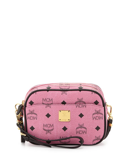 Visetos Mini Crossbody Bag, Pink