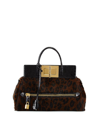 Tom Ford Natalia Pony & Alligator Doctor Bag