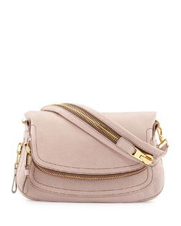 Tom Ford Jennifer Medium Leather Shoulder Bag, Blush Nude