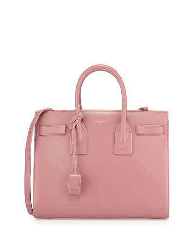 Saint Laurent Sac de Jour Small Carryall Bag, Pink