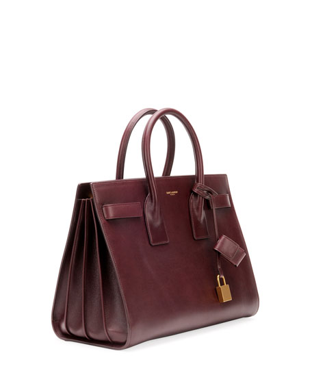 Sac de Jour Small Carryall Bag, Bordeaux
