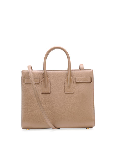 Sac de Jour Small Grained Carryall Bag, Taupe