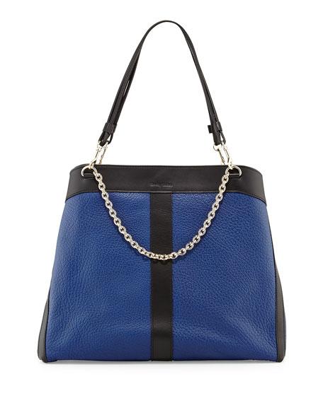 Beki Large Chain Tote Bag, Ultramarine