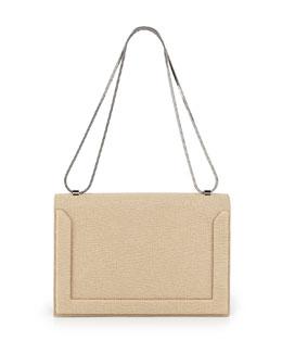 3.1 Phillip Lim Soleil Flap Shoulder Bag, Nougat/Black