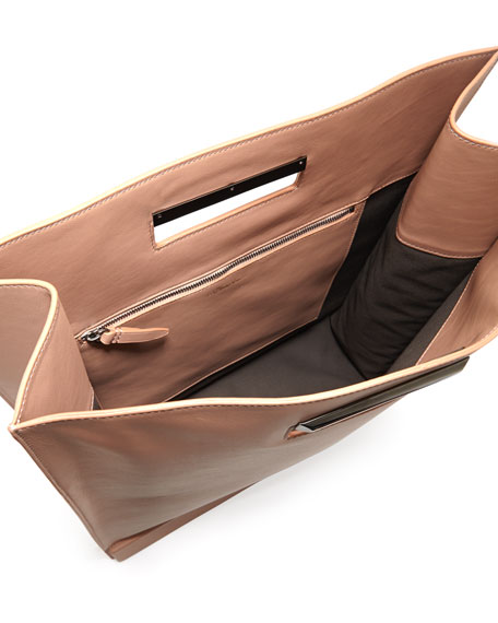 Totes Amaze Cutout Handle Tote Bag, Nude