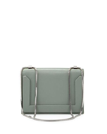 Soleil Mini Chain Shoulder Bag, Frost