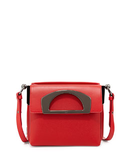 Christian Louboutin Mini Passage Leather Crossbody Bag, Red