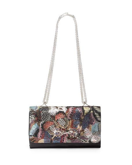 Va Va Voom Camo Butterfly Shoulder Bag, Multi