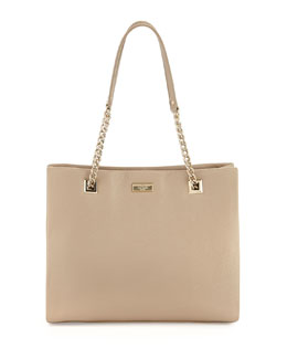 kate spade new york sedgewick lane phoebe tote bag, crimini (taupe)