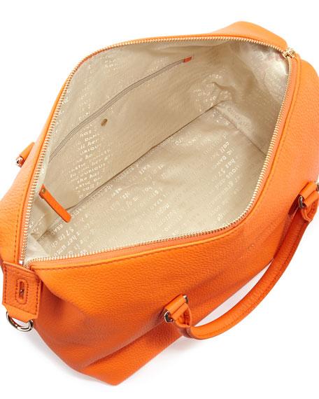 henry lane emmy satchel bag, ablaze