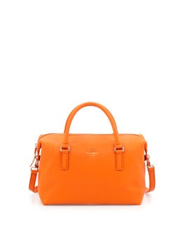 kate spade new york henry lane emmy satchel bag, ablaze