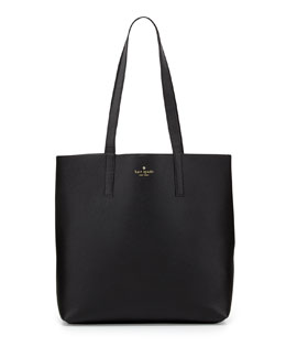 kate spade new york henry lane lulu tote bag, black
