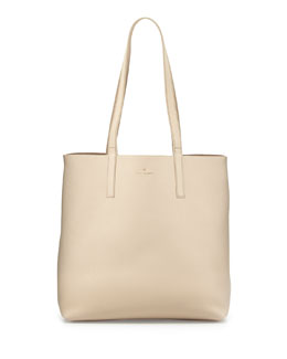 kate spade new york henry lane lulu tote bag, ostrich egg