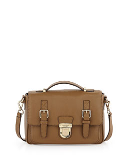 kate spade new york lola avenue lia crossbody satchel, brown sugar