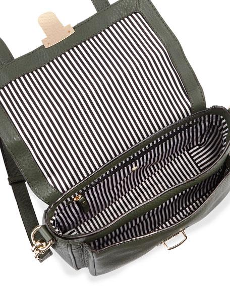 lola avenue lia crossbody satchel, loden