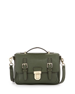 kate spade new york lola avenue lia crossbody satchel, loden